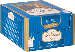 SIR WILLIAM`S EARL GREY - Beuteltee Schwarzer Tee, 50 Stk. Teebeutel je 2 g