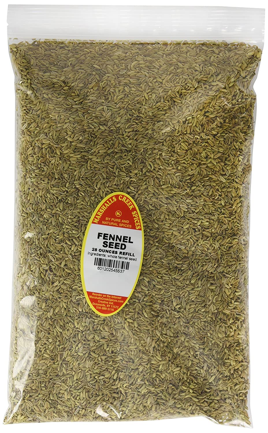 High quality Marshall's Creek Spices Family 5 ☆ popular Size Seed Whol Fennel Kosher