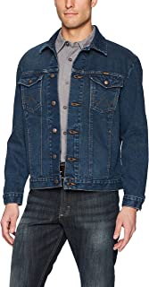 Wrangler Men's Western Style Unlined Denim Jacket