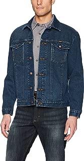 denim coats with brass buttons