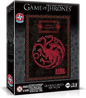 Quebra-cabeça 500 Peças Got Targaryen Brinquedos Estrela Multicores