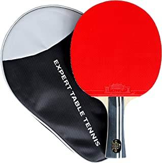 Palio Legend 3.0 Table Tennis Bat & Case - ITTF Approved, Advanced Ping Pong Racket
