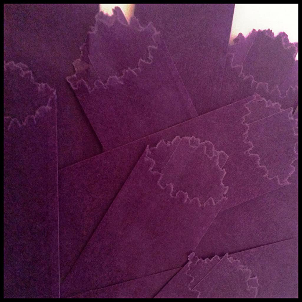 Purple 22 mm Vellum Glassines Stamp Wax Paper 600 Waxed Bags Design