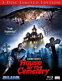 Blue Underground's The House By The Cemetery 3-Disc Limited Edition Blu-ray arrives Jan. 21 from MVD Entertainment