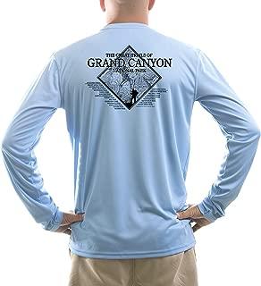 American Backcountry Men's Grand Canyon National Park UPF 50+ Long Sleeve T-Shirt