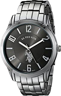 U.S. Polo Assn. Classic Men's USC80038 Gunmetal-Tone Dial Watch