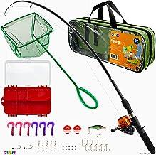 Play22 Fishing Pole For Kids – 40 Set Kids Fishing Rod Combos – Kids Fishing..