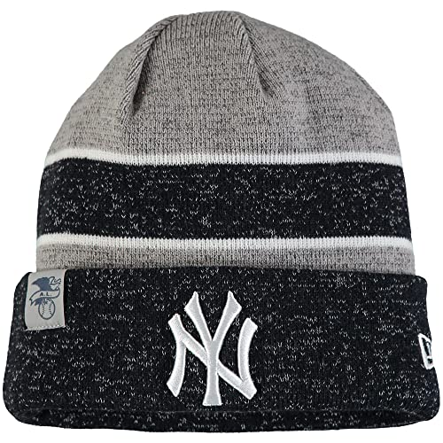 121a6eeeb59 New Era Knit New York Yankees Biggest Fan Redux Sport Knit Winter Stocking  Beanie Pom Hat