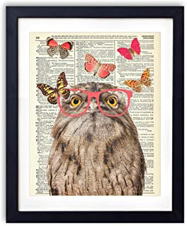 vintage owl pictures