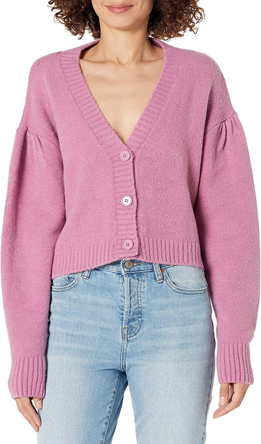 KENDALL + KYLIE Women's Cropped Cardigan