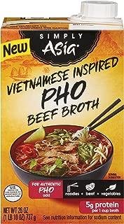 Simply Asia Vietnamese Inspired Pho Beef Broth, 26 fl oz
