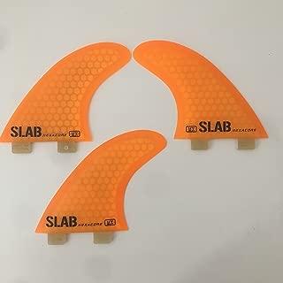 Slab-Surf Fins Thruster Hexa TW9 FCS 2 Black Talla M