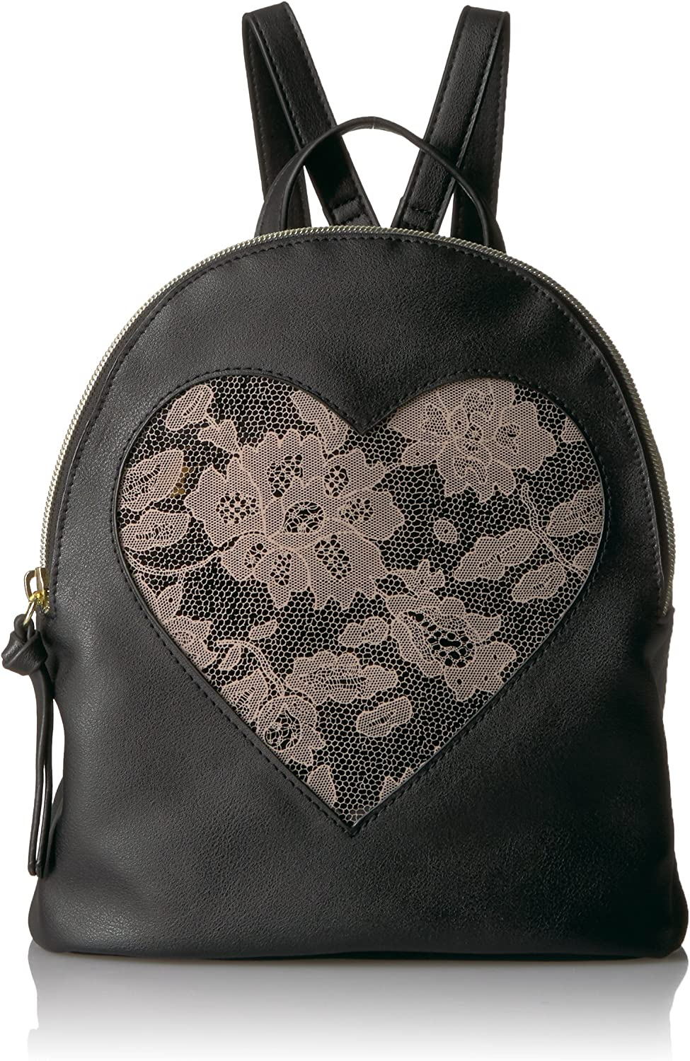 TShirt & Jeans Frosted Lace Heart Back Pack