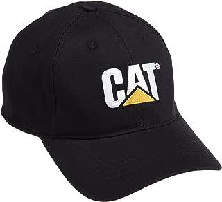 Caterpillar Men's Trademark Stretch-Fit Cap