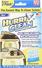 Ontel HurriClean Automatic Toilet & Tank Cleaner with Cyclonic Foaming Action for..