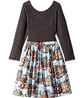 Christmas Village Abbie Dress (Toddler/Little Kids/Big Kids)