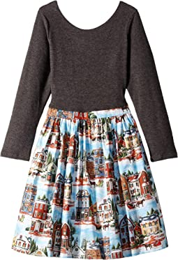 Christmas Village Abbie Dress (Toddler/Little Kids/Big Kids)