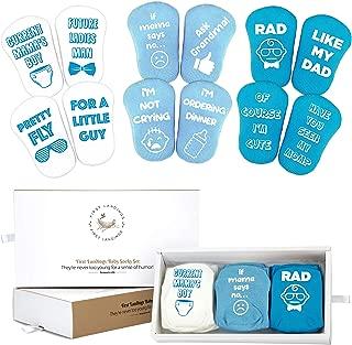 First Landings Baby Socks Gift Set | Baby Shower Gifts Boys Girls Gender Neutral