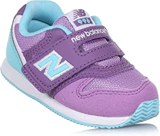 New Balance Hook And Loop 997 Girl's Sneaker Shoes Madder