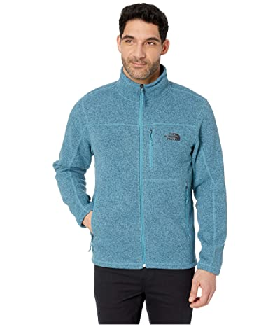 The North Face Gordon Lyons Full Zip (Storm Blue Heather) Men