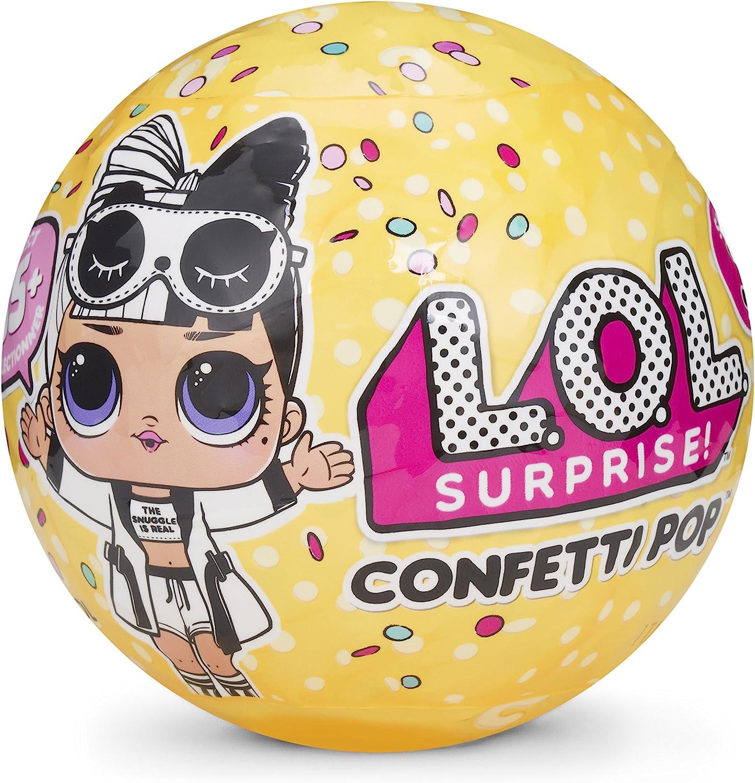 Boss QUEEN LOL Surprise Series 3 CONFETTI POP DOLL! Gold Rare