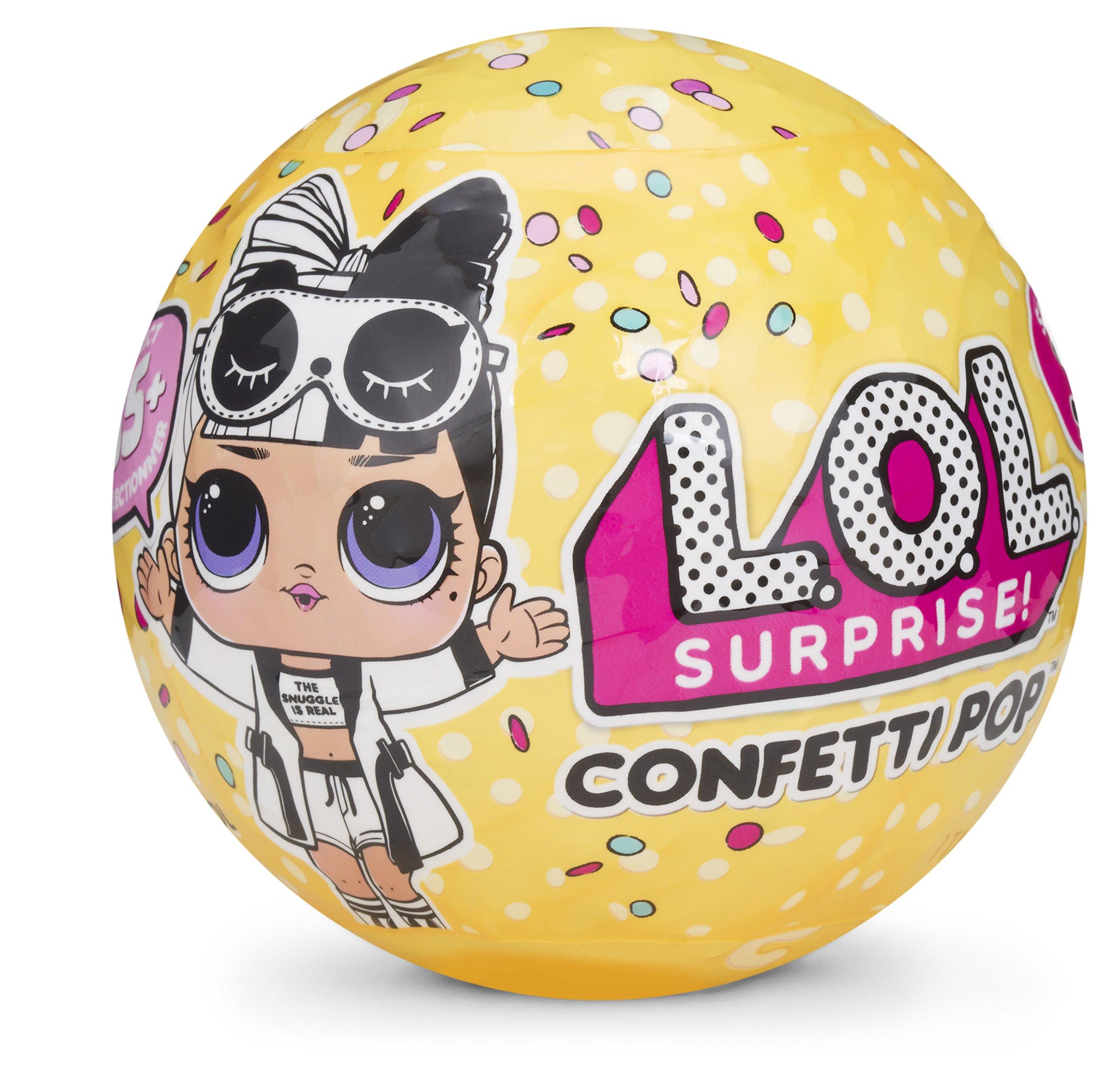 LOL 서프라이즈 컨페티팝 시리즈3 인형 LOL Surprise! Confetti Pop - Series 3 Collectible Dolls,Blue