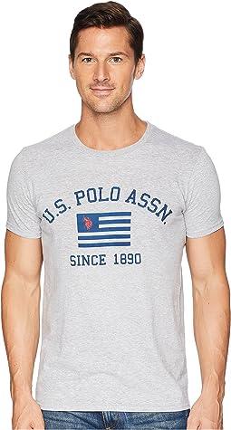 USPA Flag 1890 Crew Tee
