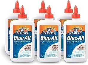 Elmer's Glue-All Multi-Purpose Liquid Glue, Extra Strong, 7.625 Ounces, 6 Count