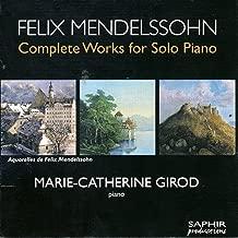 Best felix mendelssohn piano solo Reviews