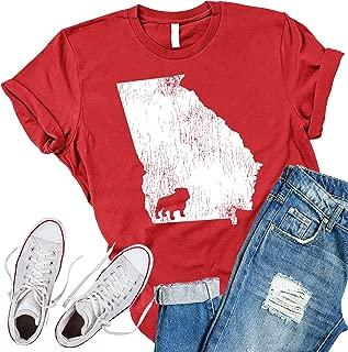 UGA Football Fans Shirt | Athens Georgia | Georgia Women's Fan Shirt | Bulldogs Football Fan Shirt | Unisex Sizing