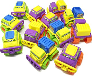 Boley 12 Pack Large Monster Truck Toy Set - Assorted Colors and Styles - Great as Beach Toys, Sand Toys, Truck Toys - Perfect for Party Favors, Birthday Gifts
