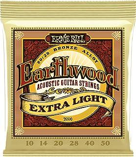 Ernie Ball Earthwood Extra Light 80/20 Bronze Acoustic Set.010 - .050