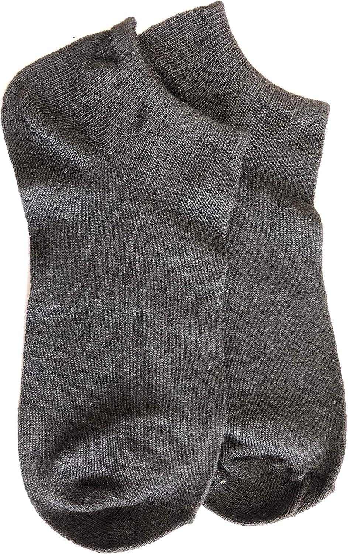 PKIFSHBF Girls' Big Max 84% OFF Popular product Short Socks 5-7.5 black shoe women