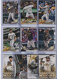 Pittsburgh Pirates Assorted Baseball Cards 10 Card Lot