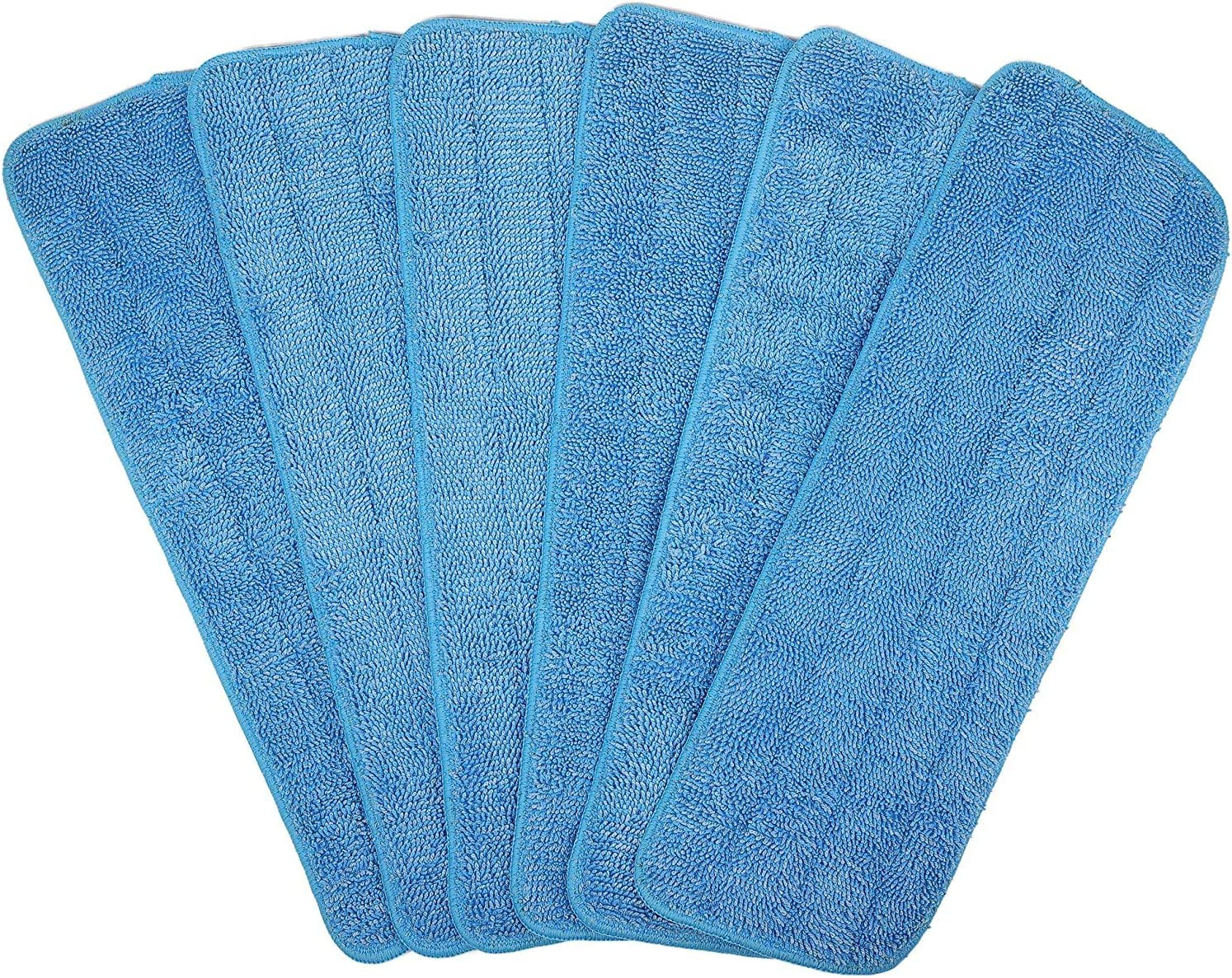 6 Pack Microfiber Cheap mail Import order specialty store Spray Mop Replacement F Dry for Heads Wet Mops