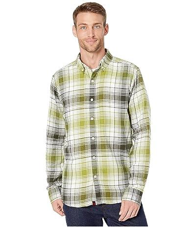 Marmot Harkins Lightweight Flannel Long Sleeve Shirt (Rosin Green) Men
