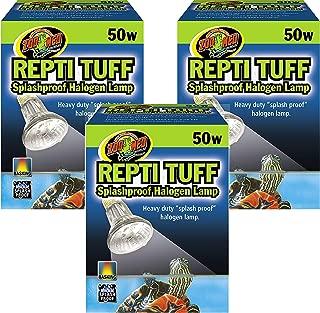 Zoo Med Repti Tuff Splashproof Halogen Lamps 50 Watts (3 Pack)