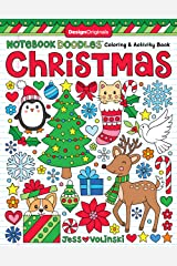 Notebook Doodles Christmas: Coloring & Activity Book Paperback