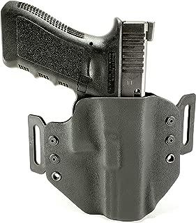 Tru-Fit Tactical OWB Kydex Gun Holster (Black)