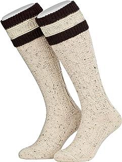 1 Par Hombre Trajes Tradicionales Medias Calcetines de Rodilla largas con Sobre