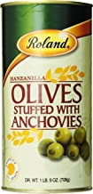 manzanilla olives stuffed with anchovies