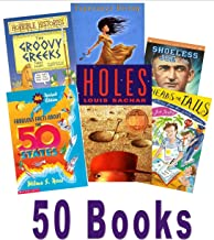 Classroom Library (Grade 5 -7): Diary of a Wimpy Kid; Camp Confidential, Natalie's Secret; Esperanza Rising; Danny Champion of the World; the Phantom Tollbooth; Horrible Histories; My Teacher Flunked the Planet; Where the Red Fern Grows