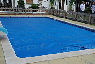 Ubbink - Lona de burbujas para piscina, 400microns, 350 x 650 cm