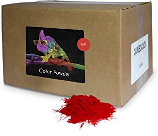 Holi Powder Bulk by Chameleon Colors - Red - 25 lbs. Pure, Authentic Fun - Perfect for a Color Race, 5k, Festival, Party or Any Other Event You Want to Make Colorful.