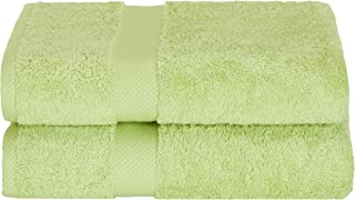 Daisy House pcs-Lt 2 Piece Canyon Bath Towels, Light Celadon