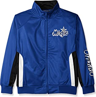 NBA Big and Tall Tricot Track Jacket with Logo WordMark