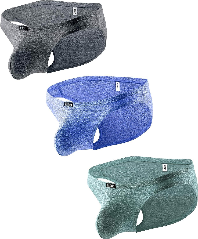 iKingsky Men's Pouch Bikini Underwear Sexy Low Rise Bulge Mens Briefs