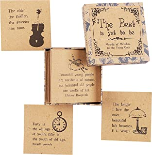The Best is Yet to Be - Daily Inspirational Quote Cards for Grandma and Grandpa