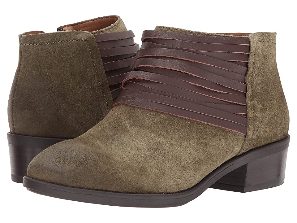 Comfortiva Corliss (Olive Oiled Cow Suede) Women