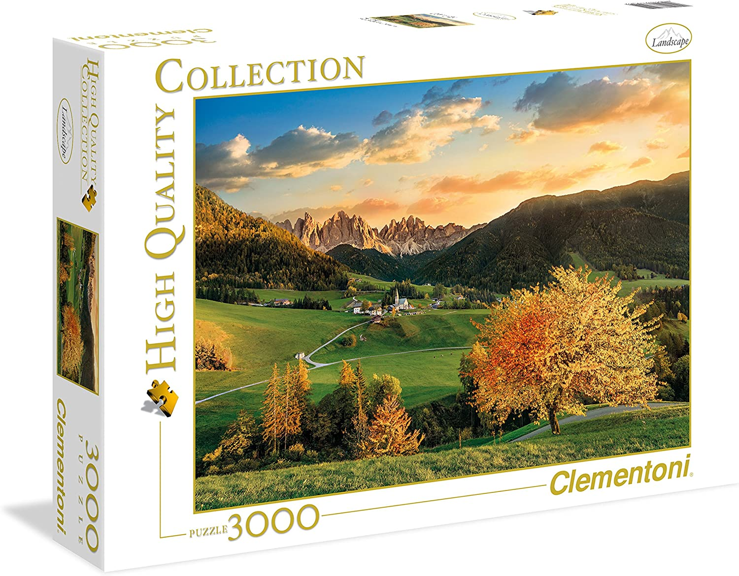 Clementoni 335459 3000 Piece Puzzle  The Alps